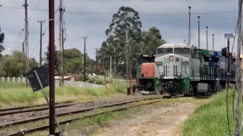 Railfaning in Rumo system (Brazil) - part 3