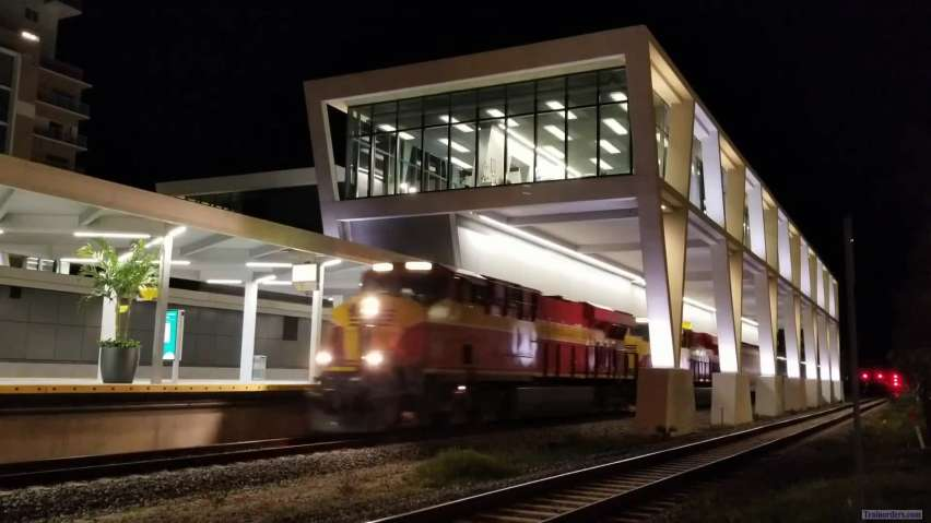 FEC through WPB Brightline station