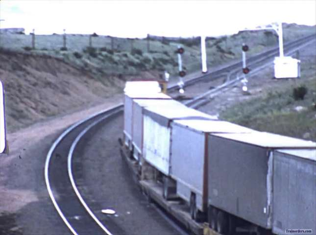 UP Cheyenne / Hermosa Tunnel 8mm movie from July 1978
