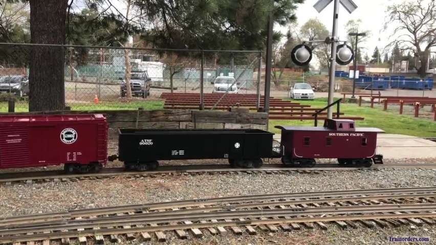 Southern Pacific in 1/8 scale