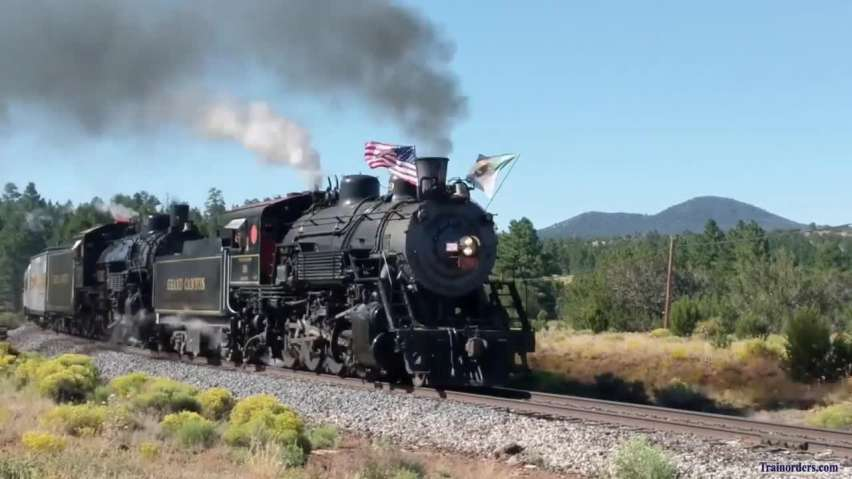 Grand Canyon Railway 29 & 4960 Doubleheader