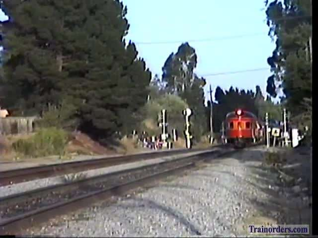 San Francisco Bay Area Trains, 1992, 8 MM to Digital