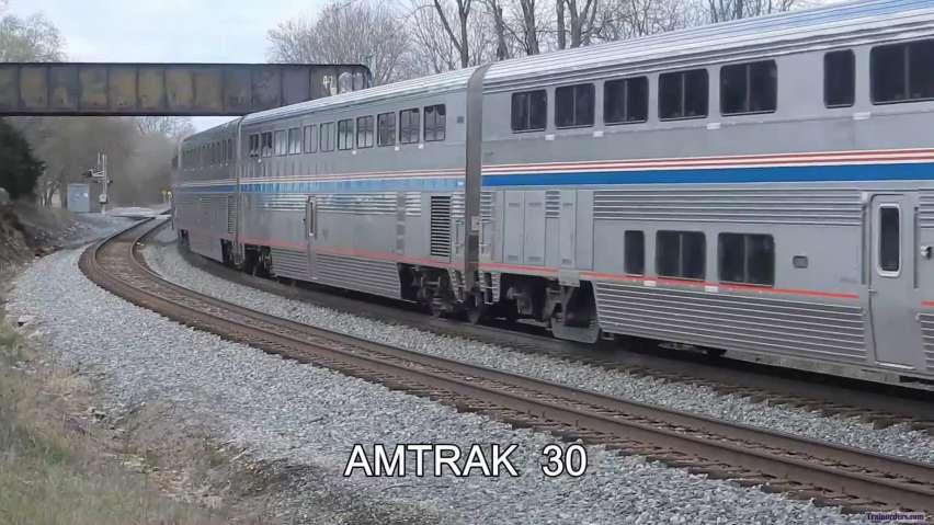 The new normal.......Truncated Amtrak
