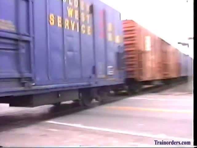 Ashley Drew & Northern, SP X8026 West Leaving Avondale, 8/93