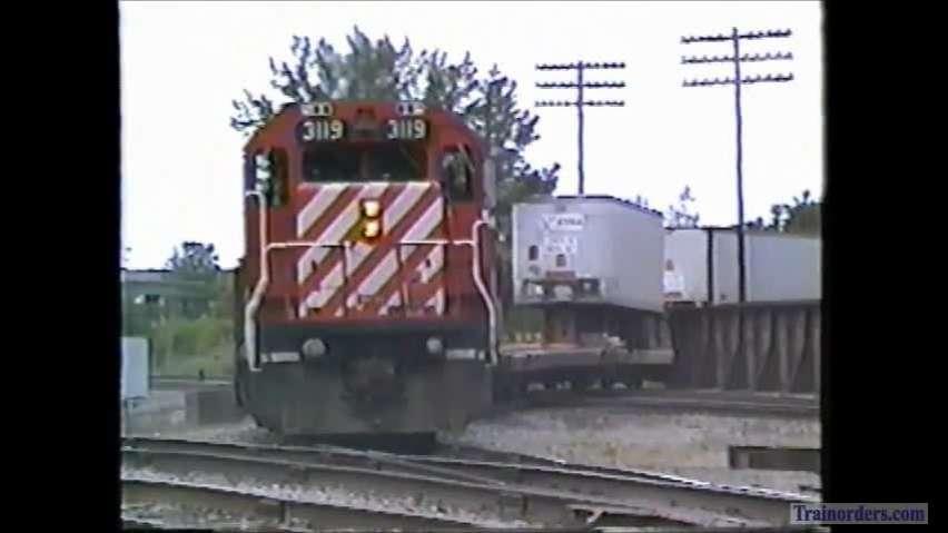 CP ALCOs, D&H at Binghamton (Part 1)