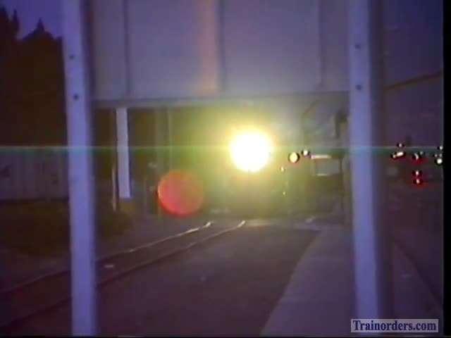 Alameda Belt Portion Of June 5th, 1993, Locomotive Swap