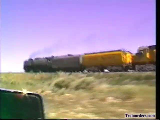 Almost 30 Years Ago, UP 844 + 6936 WB Chase 2 Idaho 6-29-90