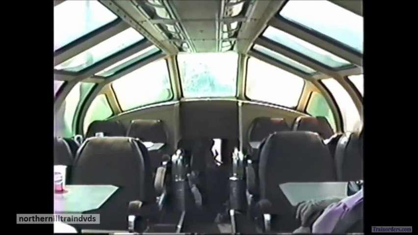 IAIS 1989 Quad City Rocket Dinner Train Dome Ride to Wilton, IA