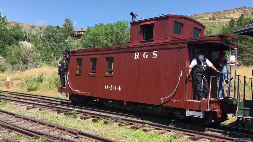 RGS 20 at the Colorado Railroad Museum