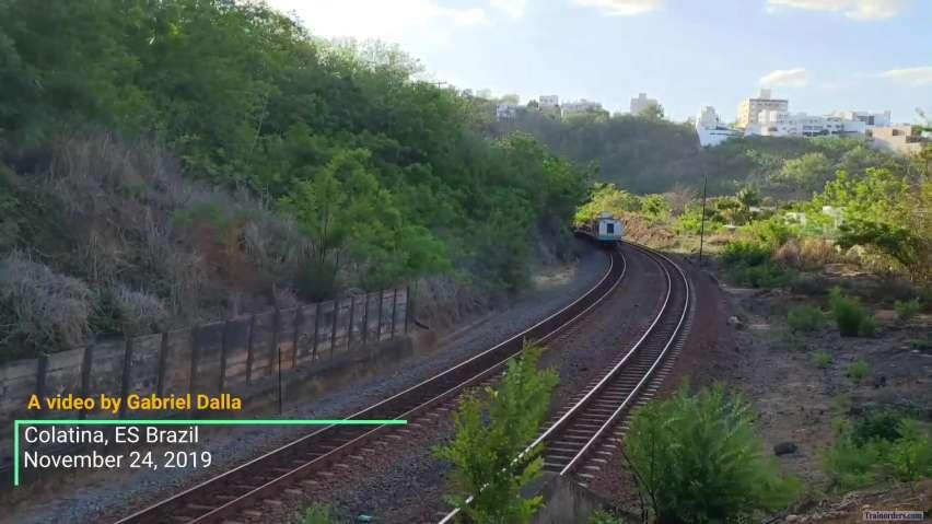 DDM45 leading a rail train (Brazil)