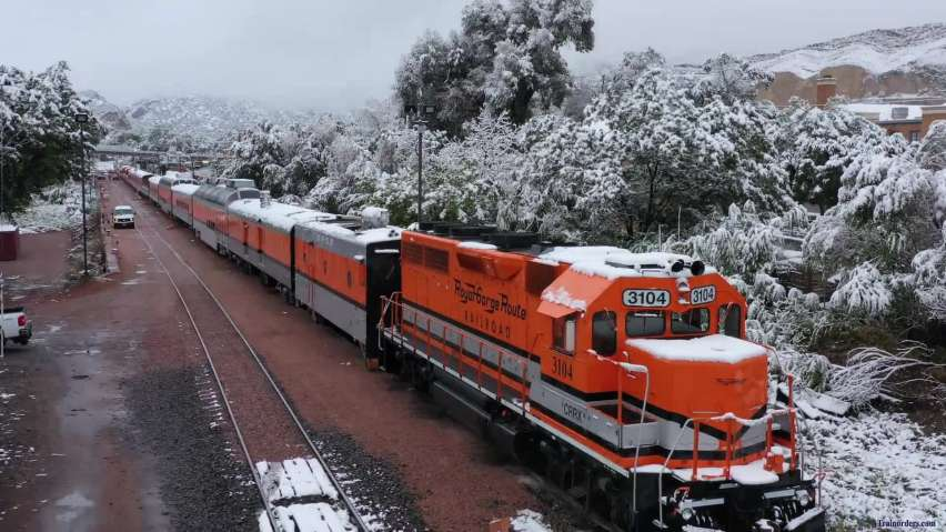 Snow across CO- early Sept 2020 - Royal Gorge Route