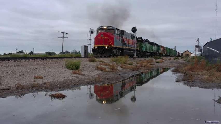 Kyle RR's Utah Rly 5002 on 10 Sept 2020