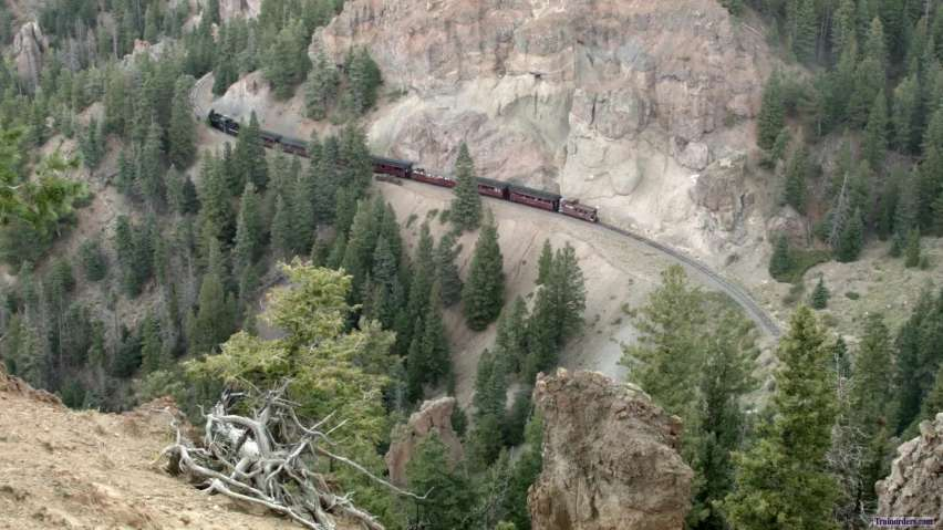 A couple of hard to reach locations on the Cumbres & Toltec
