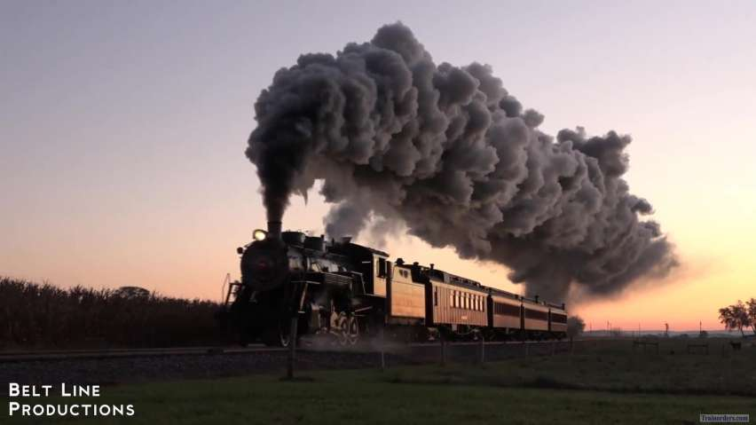 Strasburg Railroad #90 - 60th Anniversary Of Steam