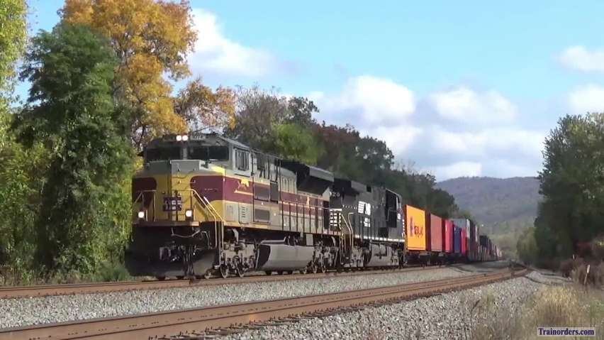 NS Action around Harrisburg, PA this afternoon