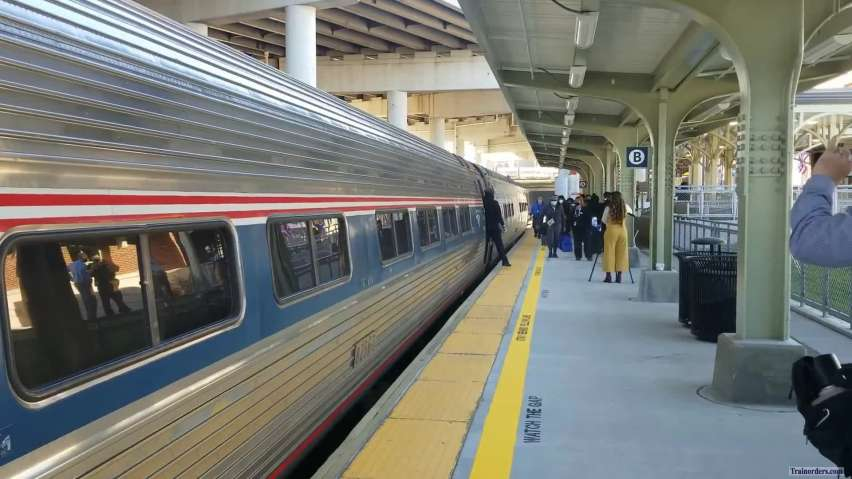 New Buffalo (NY) Exchange Street Station Opens