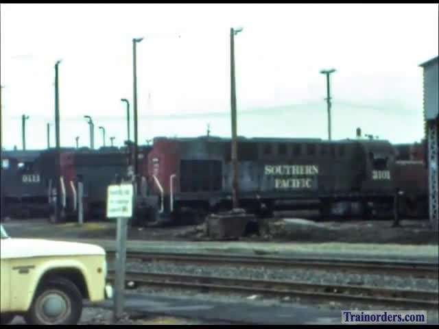 Southern Pacific Roseville action, + other areas SD45X K Maffie