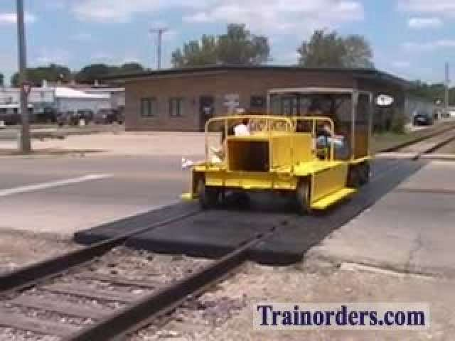 Speeder Car Ride on the ex-ICRR in Mendota, Illinois