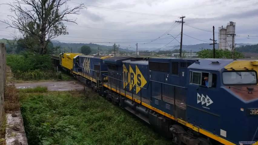 Brand new MRS SD70ACe/45 (Brazil)