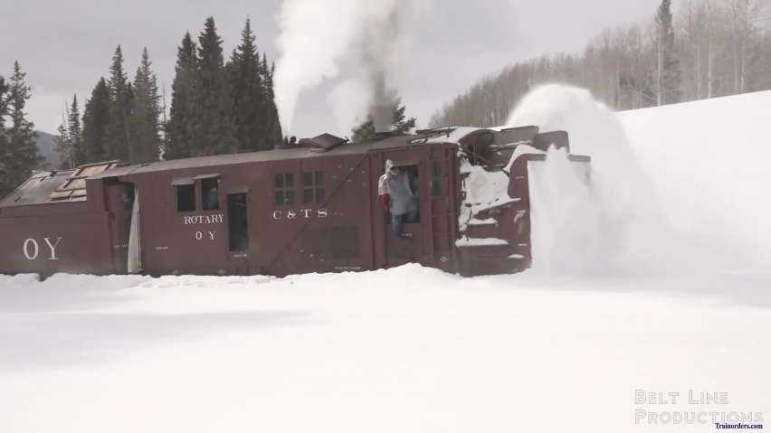 Cumbres & Toltec Rotary OY - Final Push to Cumbres Pass