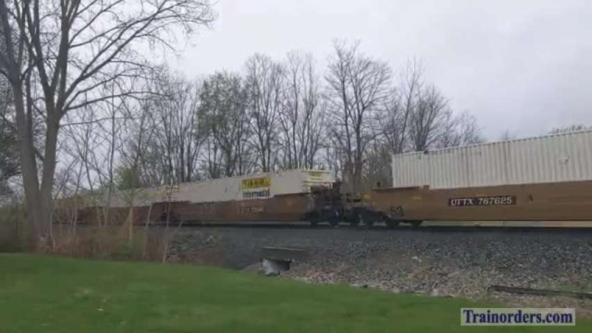 NS Southern Heritage #8099 leads Intermodal 206
