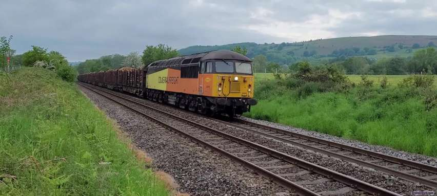 A couple of video clips of 56090 and 094