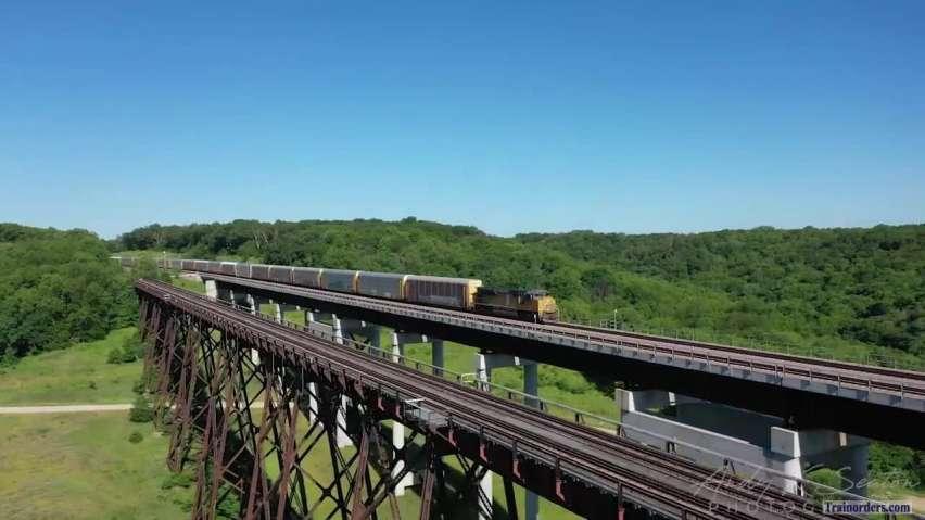 UP - Boone, IA (Kate Shelley High Bridge)