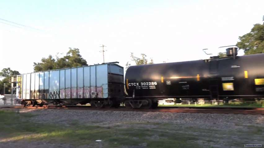 Combined coal and ethanol train