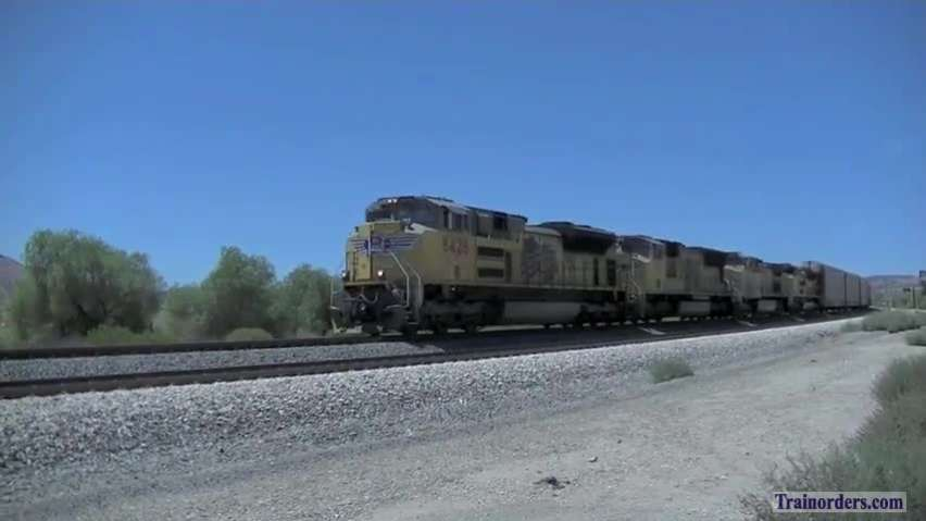 Eastbound Z Trains, Sunset Route (SoCal)