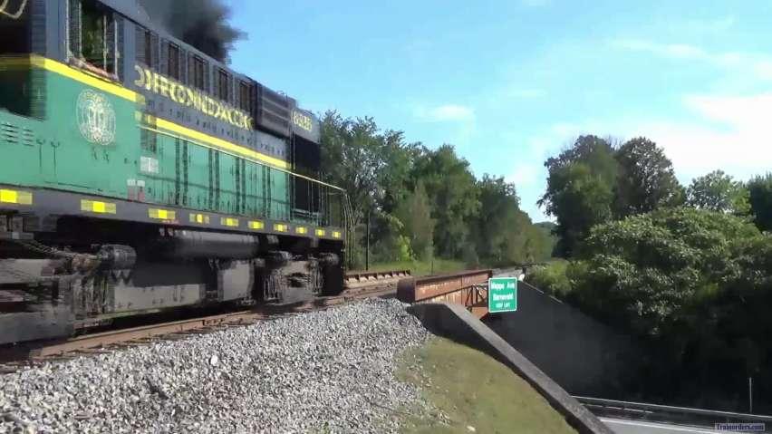 """Black Flies & Adirondack Rails"""