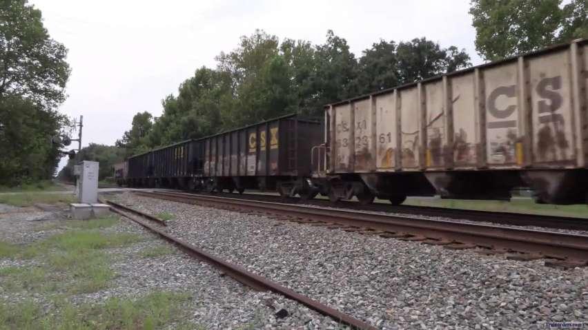 CSX Phosphate train with BNSF and Ferromex