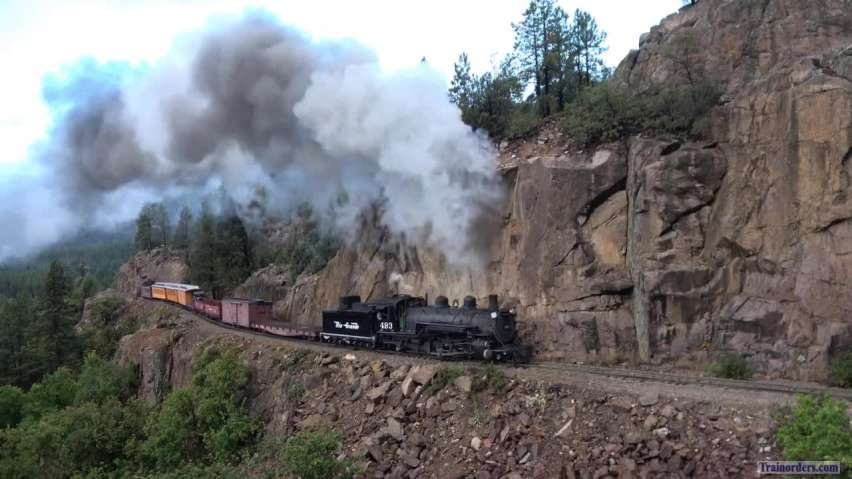 Rio Grande 493 To Silverton Video