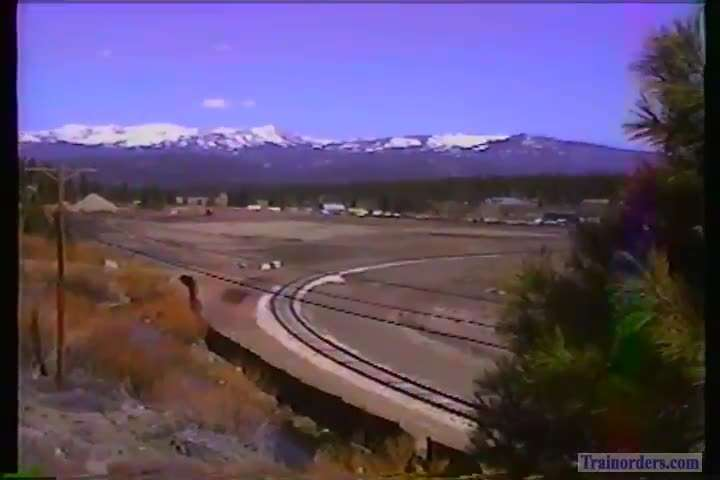 SP 7+3 Moving the coal along the Truckee River 1991