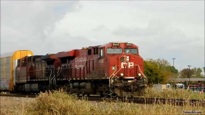 CP 8925 CP 8647 West, Sunday, October 3, 2021, at about 5:00 PM