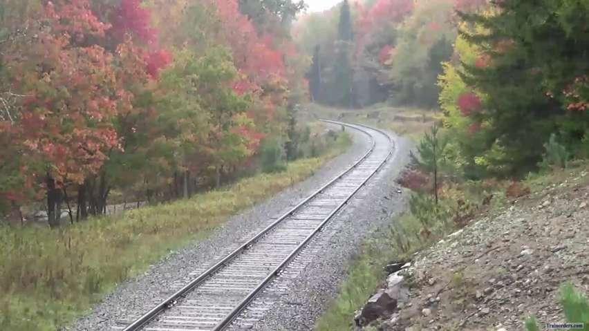 """Under October Skies"" Adirondack RR"