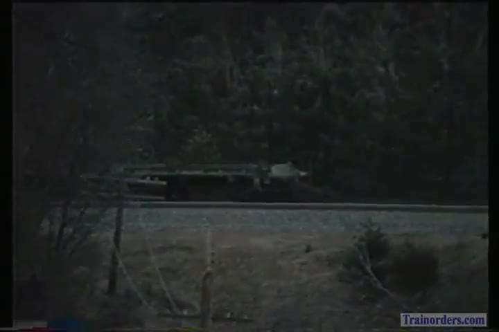 Early BNSF freight on Donner 1997