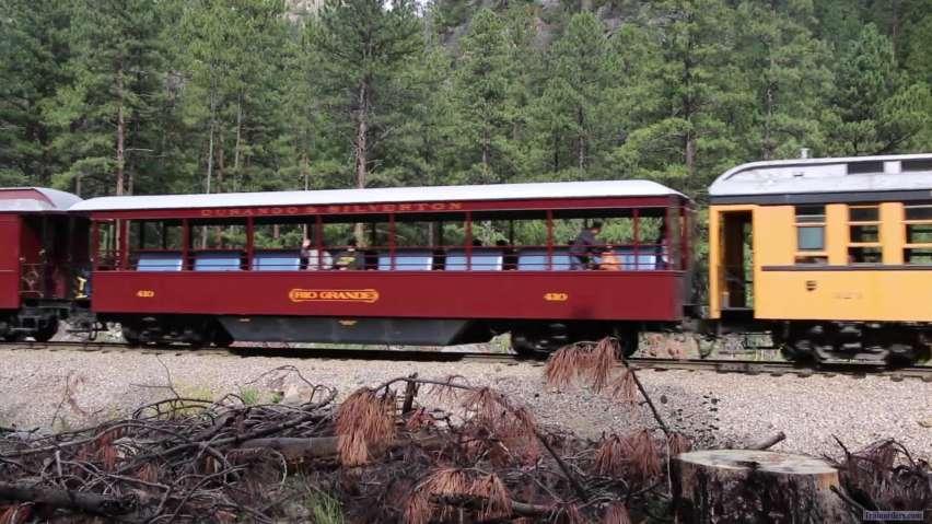 Durango & Silverton diesel in action