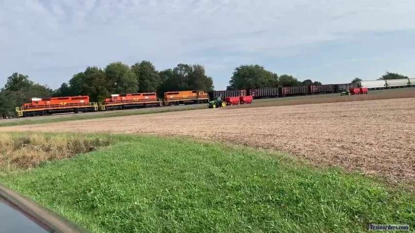 Harvest time on CF&E.