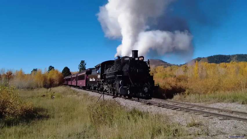 C&TSRR = Locomotive 488 First Run 2021