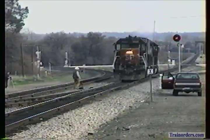 SP 7305 East at Rocklin 1995