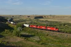 Medicine Hat Monday - Late Day on the East Side