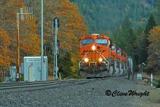 That Dunsmuir BNSF Detour Business...with fall colors