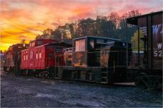 WMSR #7 Sunrise at the Yard