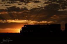 Sunset on the Rails