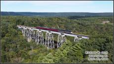 R&N F units on Hometown bridge