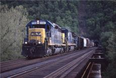 CSX action on ex-B&O Magnolia Cutoff in WV. 20 years ago OTD