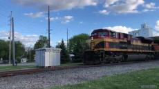 5/5/21 CN Train G 889 in Michigan