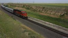 BNSF 6017 East 7-car Officer Special